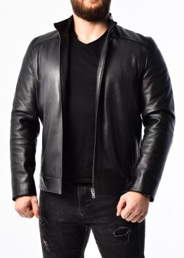 Autumn deer leather jacket fitted NJAROL1B