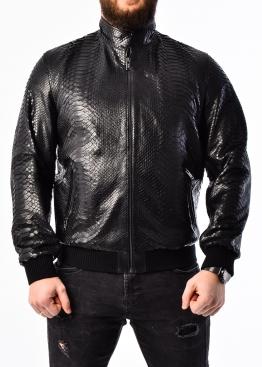 Spring jacket made of genuine python leather PITON0B