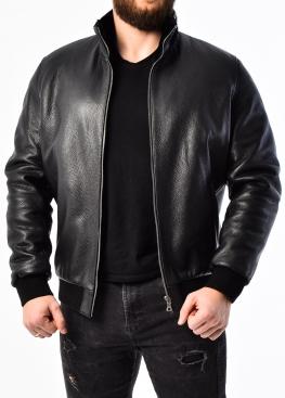 Зимняя куртка из кожи оленя с мехом TROL2BB