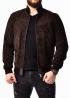 Autumn Suede Men's Elastic Jacket TRZ0K