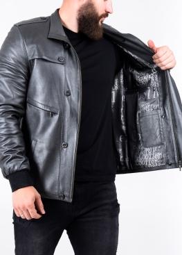 Осіння шкіряна куртка 77L1C