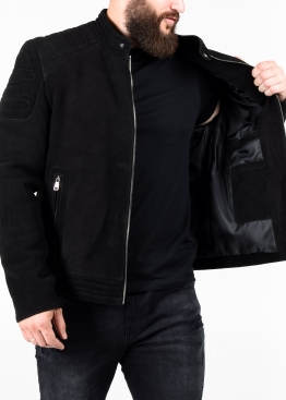 Spring fitted leather men jacket FORDNB1B