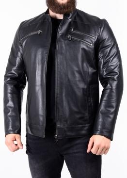 Осіння чоловіча шкіряна куртка JARL1B