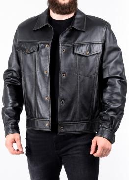 Весенняя кожаная куртка JINKO0B