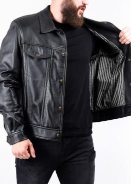 Весняна шкіряна куртка JINKO0B