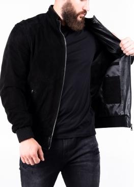 Весняна замшева перфорована куртка чоловіча TRPZ0B