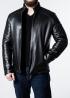 Зимняя приталенная кожаная куртка FILS2BB