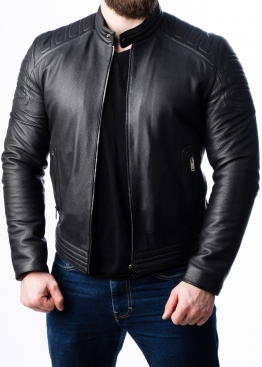 Весенняя куртка из натуральной кожи Оленя FORDOL0B