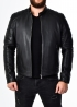Autumn fitted leather men jacket FORDOP1B