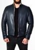 Зимова приталена шкіряна куртка FORDS2IV