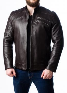 Весенняя мужская кожаная куртка JARS0K