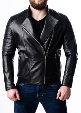 Spring leather jacket for men MKL0B