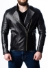 Spring leather jacket for men MKL0B