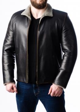 Зимняя кожаная куртка с мехом MLK2BC