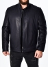 Autumn men's leather jacket fitted NJARH1I