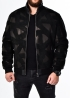 Winter leather jacket with fur under an elastic band TRU2BB