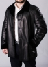 Winter leather coat with fur 65A2BB
