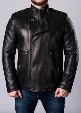 Осенняя кожаная куртка  77S1B
