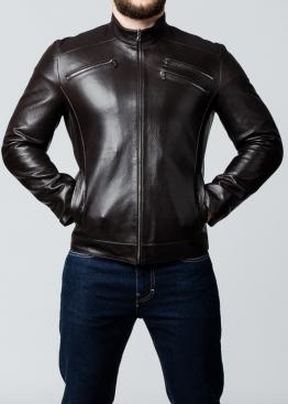 Осенняя мужская кожаная куртка JARS1K