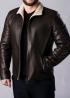Зимняя кожаная куртка с мехом MLK2KV