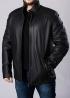 Men's winter leather jacket NMLT2BB