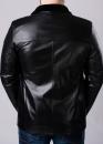 Зимняя кожаная куртка мужская