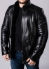 Winter leather jacket man's NMLL2BB