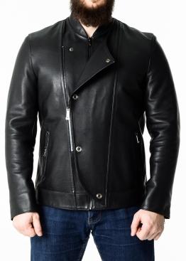 Весняна куртка-косуха зі шкіри теляти KOSOP1B