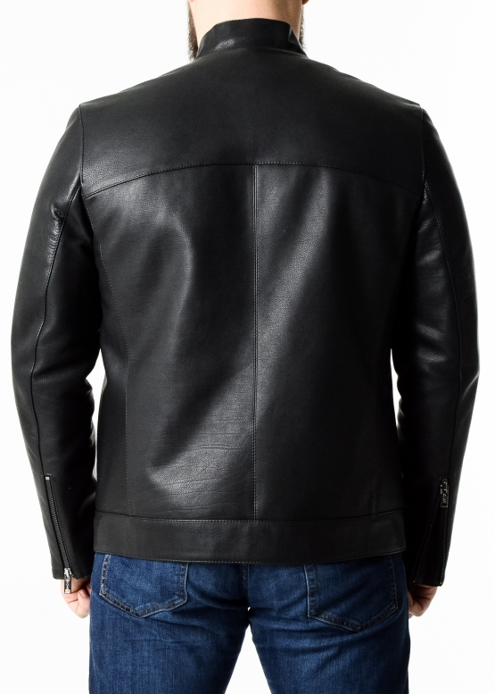 Весенняя куртка-косуха из кожи теленка (опоек)