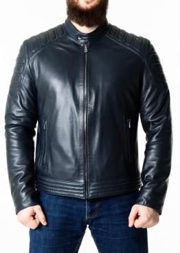 Spring fitted leather men jacket FORDS0I