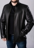 Winter leather jacket with fur SMLA2BB