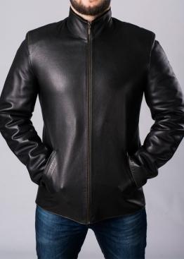 Зимняя кожаная куртка с мехом SMLA2BB