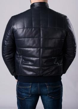 Осенняя кожаная мужская куртка под резинку TRPHL1I